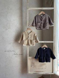 【予約】velor jacket / Monbebe no.10017