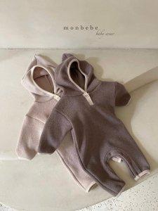 【予約】warm hood suit / Monbebe no.10023