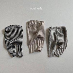 【予約】stripe leggings / minirobe no.22001