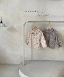 【予約】Isabella blouse / Monbebe no.10025