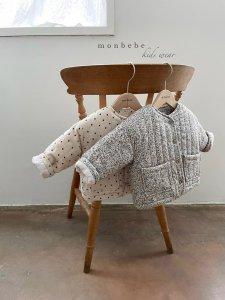【予約】Isabella quilt jacket / Monbebe no.10025