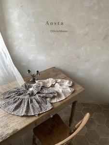 【予約】olivia blouse / Aosta no.2006