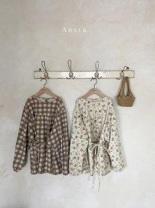 【予約】chamomile blouse -mom- / Aosta no.2007