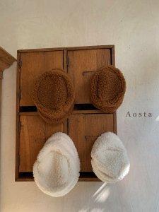 【予約】lamblamb hat / Aosta no.20014
