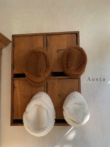 【予約】lamblamb hat -mom- / Aosta no.20014