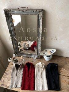 【予約】knit balaclava / Aosta no.20015