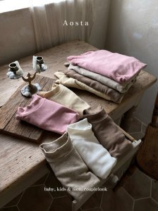 【予約】wool turtleneck tee -mom- / Aosta no.20017