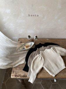 【予約】puff knit / Aosta no.20019