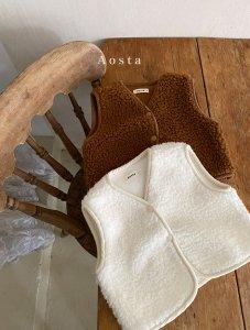 【予約】lamblamb vest / Aosta no.20014