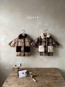 【予約】bagel jacket / Aosta no.20026