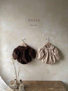 【予約】mocha suit / Aosta no.20034