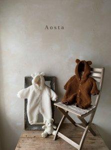 【予約】lamblamb outer bear suit / Aosta no.20014