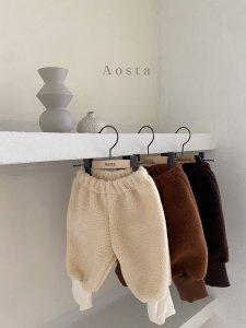 【予約】chocolate warm pants/ Aosta no.20022