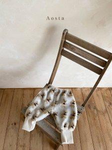 【予約】fur warm pants / Aosta no.20021