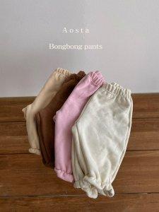 【予約】warm bongbong pants / Aosta no.20035