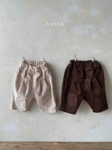 【予約】mocha pants / Aosta no.20034