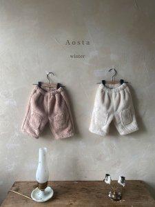 【予約】square bread pants / Aosta no.20033