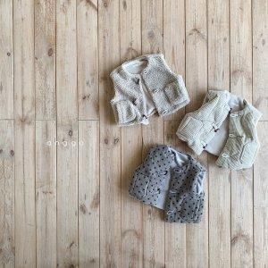 【予約】bread vest -kids- / Anggo no.80022