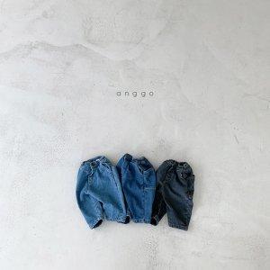 【予約】square pocket denim -kids- / Anggo no.80025