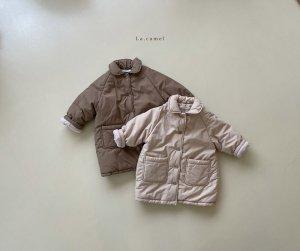 【予約】prom padding coat / La.camel no.10007