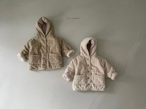 【予約】clover padding jacket / La.camel no.10008