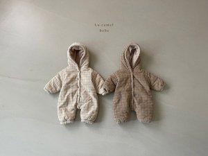 【予約】clover padding suit / La.camel no.10008