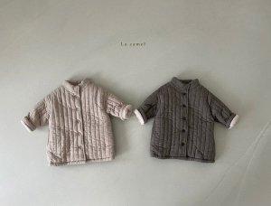 【予約】weed padding coat / La.camel no.10009