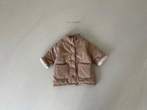 【予約】luna padding coat / La.camel no.100011