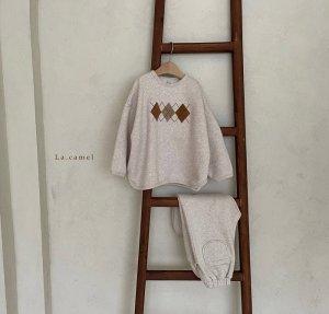 【予約】argyle setup / La.camel no.100013