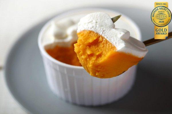 かぼちゃのプリン<生クリーム>
