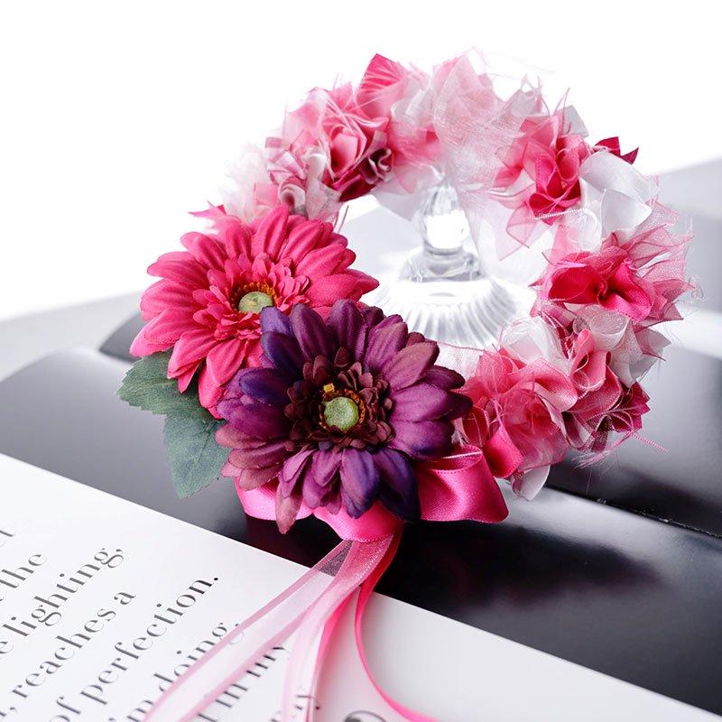おうちで作ろう 「大人可愛いピンクリボンリース 」 & 『 話題の健康管理 女子力 UP! 薬膳茶〜ピンクリボンブレンド〜 』