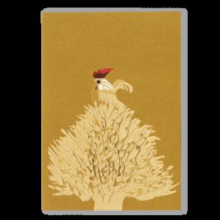 ポストカード 花鳥