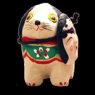六原張り子 福犬