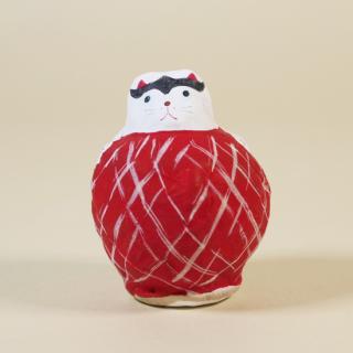 山形張子 まり猫(赤)