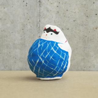 山形張子 まり猫(青)