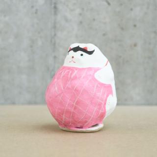 山形張子 まり猫(ピンク)