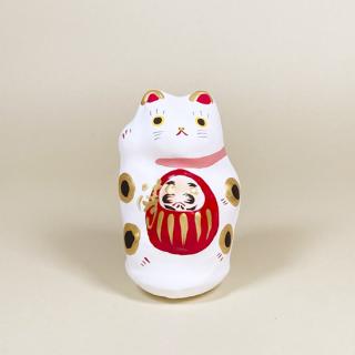 川越だるま抱き猫(小)