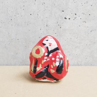神戸須磨張り子 フサさんの猩々(豆)