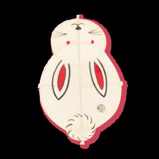 孫次凧   うさぎ凧(ミニ)