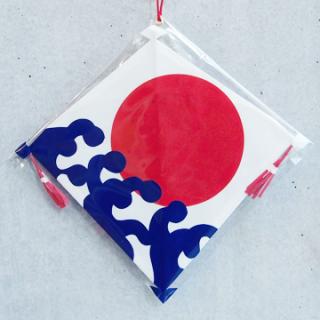 長崎凧 波に日