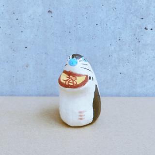 土佐和紙漆喰張り子 子(小)