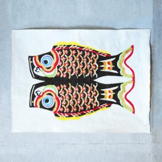 鯉のぼり 型染絵