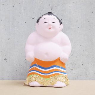 京都伏見人形   子供土俵入り(小)