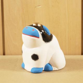 京都伏見人形   坐牛
