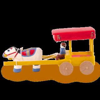 浜松張子 馬車