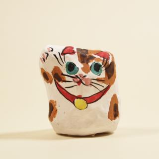 神戸須磨張り子 まねき(豆)トラ