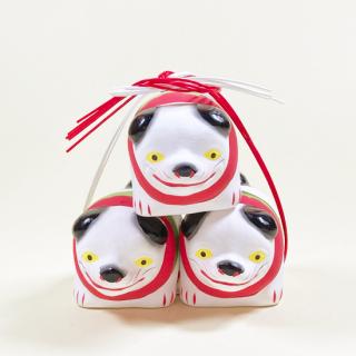 京都伏見人形   疳の虫封じ犬