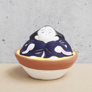 京都伏見人形   お福(盃)