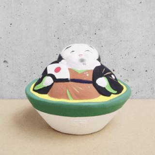 京都伏見人形   福助(盃)