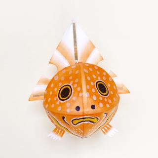 金魚ねぷた4寸 橙